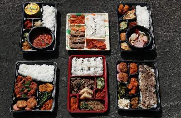 Dosirak korea, lunch box bento korea, tongin market